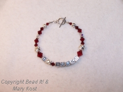 "Ohio State ""Go Bucks"" bracelet -4"