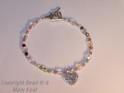 Grandmother S Bracelet With Birthstones Of Grandchildren
