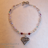 Anklet - Quinceanera 15 Anos Birthstone Anklet