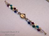 2 strand Mother's bracelet/silver