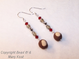 Buckeye Dangle earrings - 2
