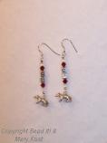 UW Earrings - 2 (w/badgers)