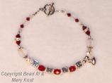"""""""Cincinnati Reds"""" bracelet"""