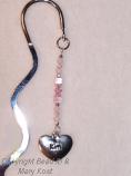 Heart Name Birthstone Bookmark