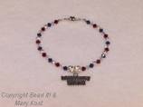 Military Mom (or wife)  bracelet
