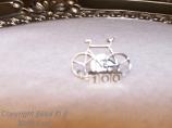 """Pins - """"Century ride""""  Bike Pin"""