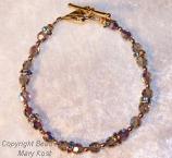 Bridesmaid's bracelet  - Smoke Gray