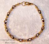 Bridesmaid's bracelet  - 24 KT