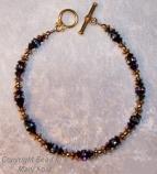 Bridesmaid's bracelet  - Black