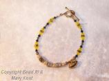 Catholic Memorial High School Football bracelet