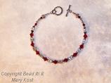 OSU Buckeyes bracelet - 1