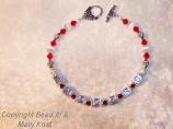 """BADGERS"" silver name bracelet-2"