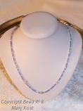 Pastel Swarovski crystal necklace