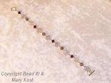 Ohio State Wire bracelet