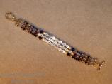 3 Strand Mother's name bracelet
