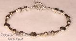 Special Initial bridesmaid's bracelet