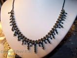 Bridesmaids Necklace  Teals- 2