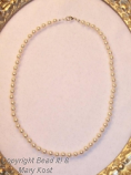 Restrung pearls