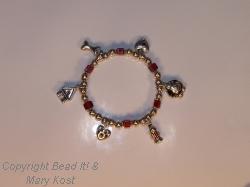 Charm bracelet for Dog lovers