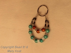 Key chain personalized for business