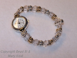 Silver and Gold Classic/locking clasp