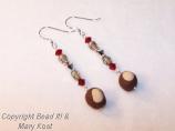 Buckeye Dangle earrings - 2