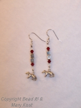 UW Earrings - 2 (w/badgers)