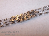 3 strand Mother's bracelet