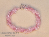Pink Twisted Multi-strand bracelet