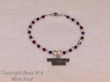 Military Mom/Wife bracelet