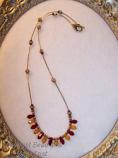 University of Minnesota Gopher Swaroski Necklace