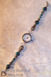Turquoise specialty bead/toggle clasp