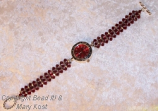Scarlet Ohio State watch, with Scarlet face
