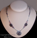 Beaded Ball Necklace