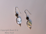 Mother of Pearl shell earrings