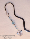Butterfly squiggle bookmark