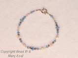 Swarovski Austrian Crystal Birthstone bracelet with .925 Sterling silver
