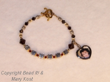 Mother's bracelet with  photo