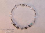 Personalized Bridesmaid's bracelet