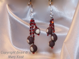 Buckeye Dangle earrings